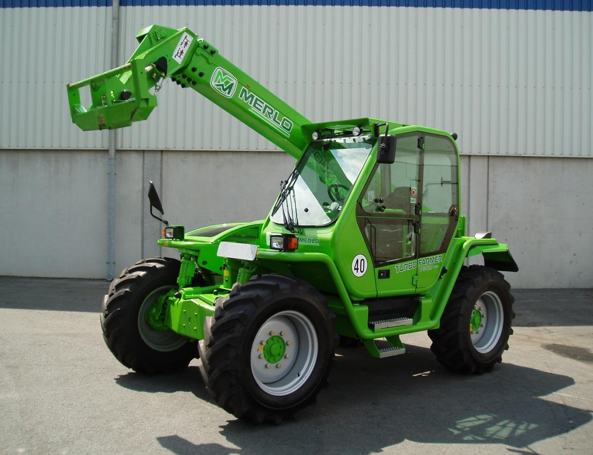 Merlo Turbofarmer P 36.7 Top